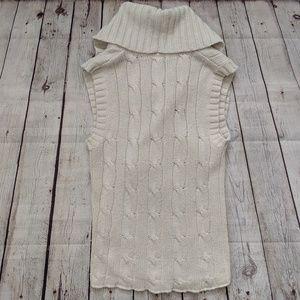 Calvin Klein Sweaters - Calvin Klein Beige Open Front Cardigan Vest
